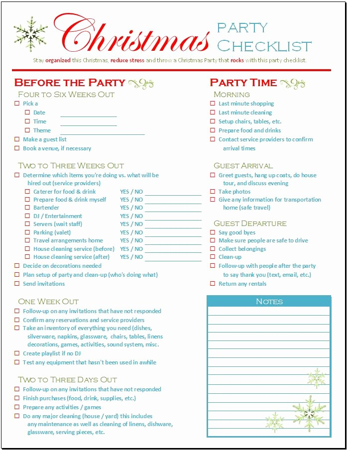 Party to Do List Template Elegant Excel Lists Free Templates by Spreadsheet Shoppe