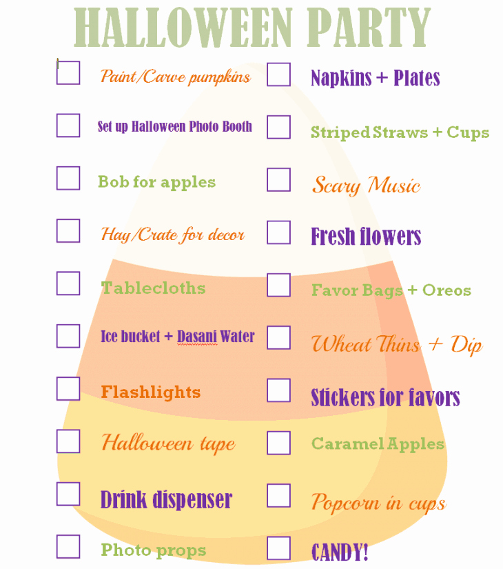 Party to Do List Template Lovely the Ultimate Halloween Party Checklist