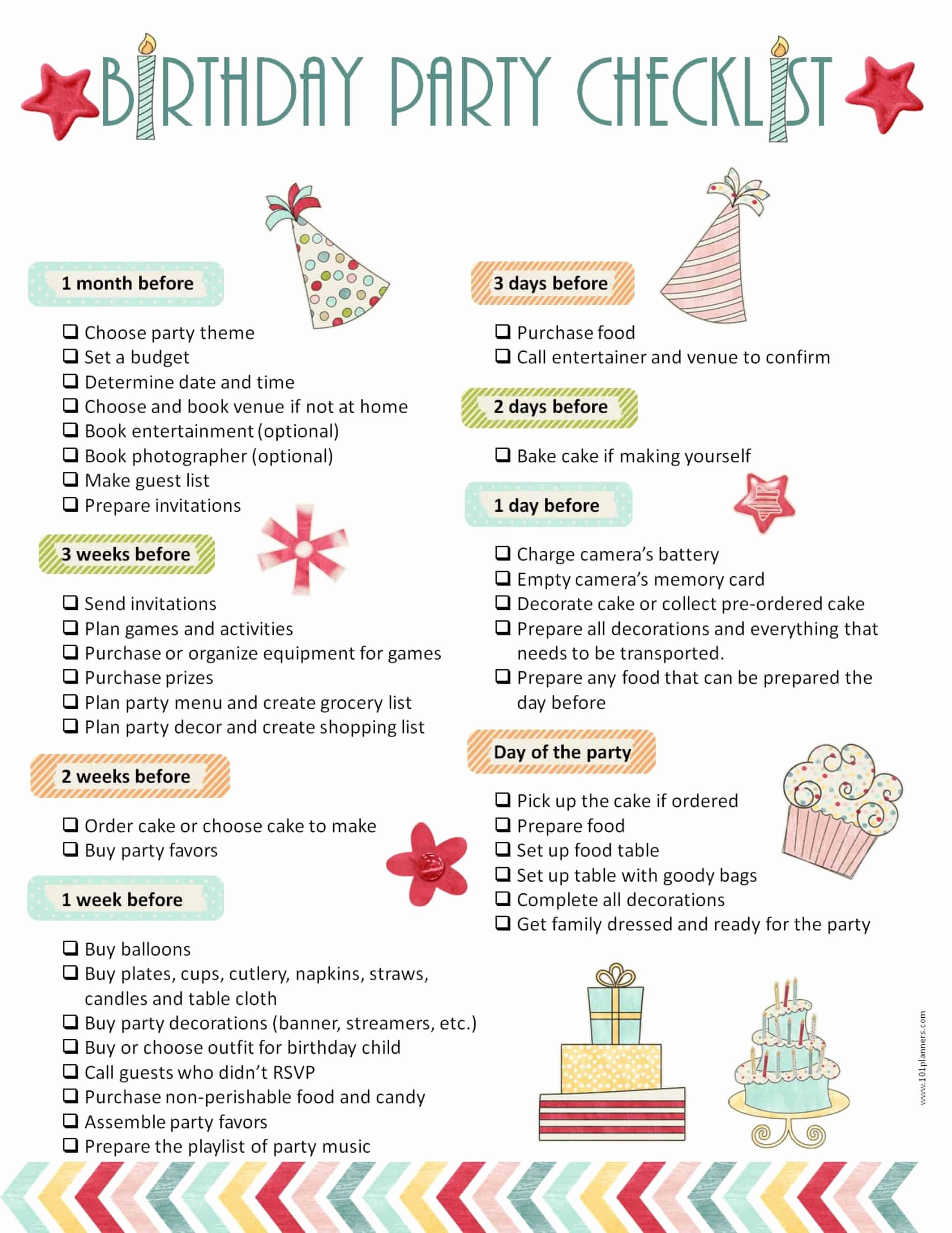 Party to Do List Template Luxury Party Planning Template