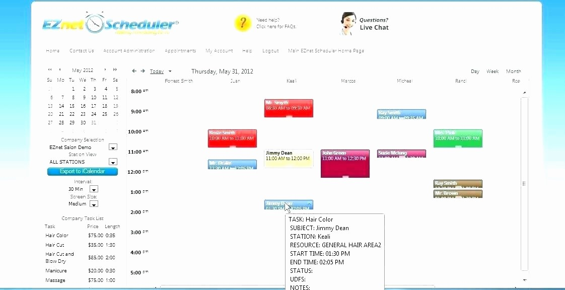 Patient Appointment Scheduling Template Excel Awesome Appointment Waiting List Template Patient