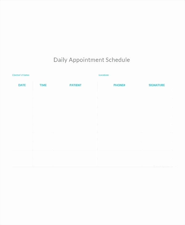 Patient Appointment Scheduling Template Excel Elegant Doctor Appointment form Flat Responsive Wid Template
