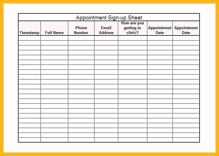 Patient Appointment Scheduling Template Excel Inspirational Appointment Template Excel Appointment Scheduling Template