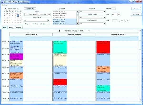 Patient Appointment Scheduling Template Excel Luxury Patient Appointment Schedule Template