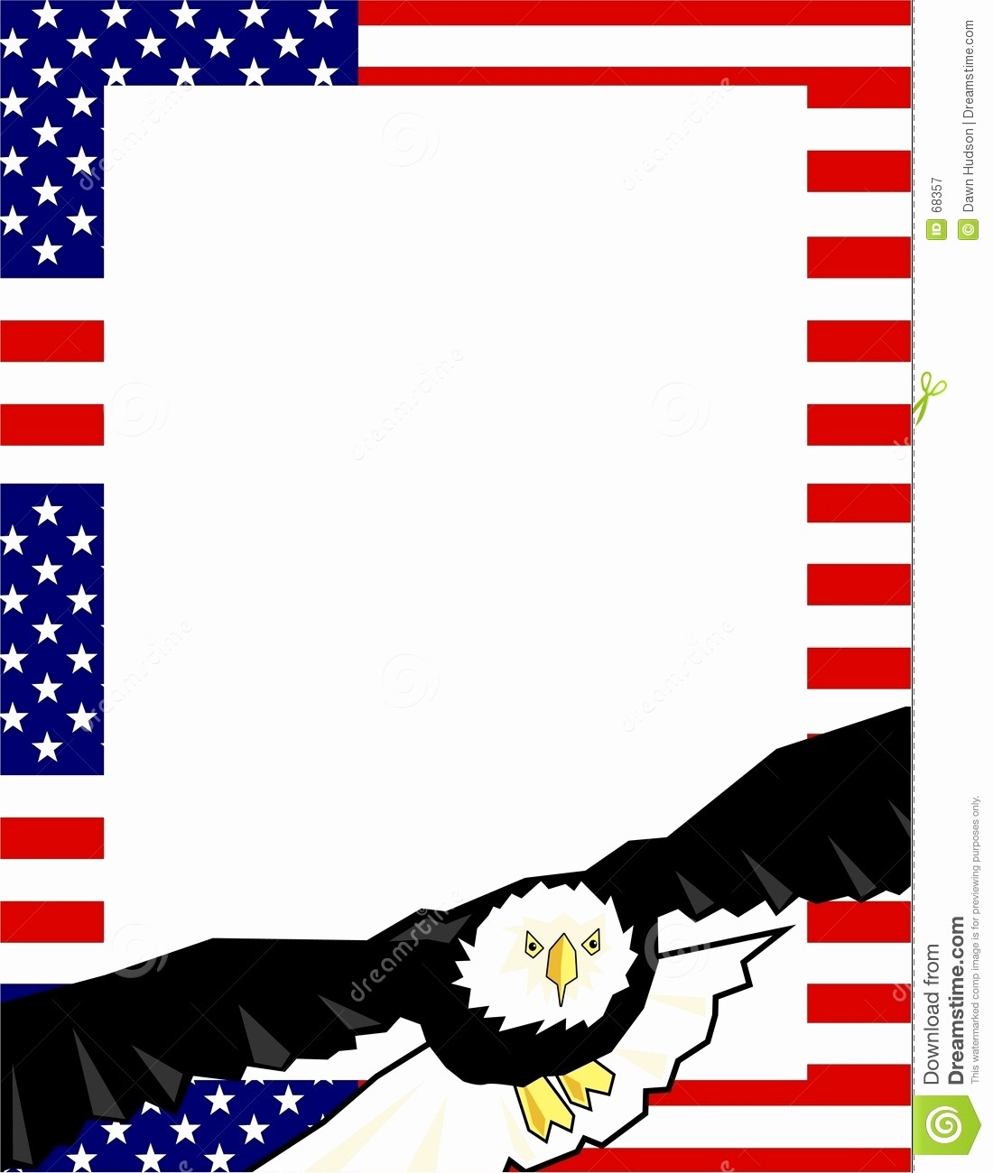 Patriotic Borders for Word Documents Awesome Patriotic Border Stock Vector Illustration Of Clipart