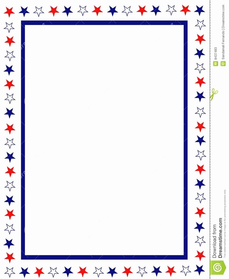 Patriotic Borders for Word Documents Beautiful Free Patriotic Page Borders