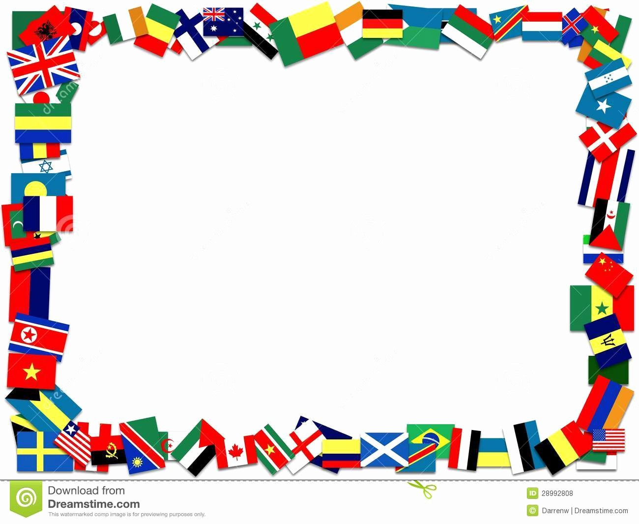 Patriotic Borders for Word Documents Best Of Flag Border