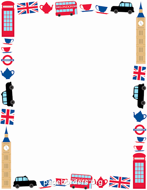 Patriotic Borders for Word Documents Elegant Pin by Muse Printables On Page Borders and Border Clip Art