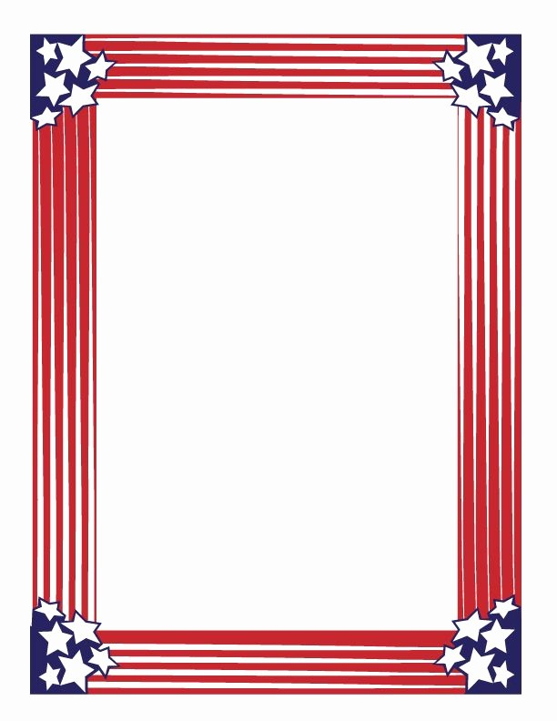 Patriotic Borders for Word Documents Luxury Pin by Catherine Sloan On Planner Journal and Stickers