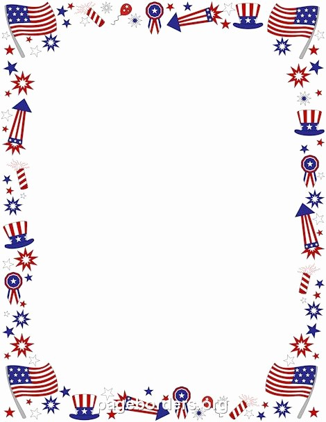 Patriotic Borders for Word Documents New 32 Best Patriotic Printables Images On Pinterest