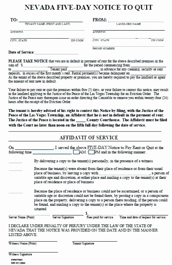 Pay or Quit Notice Sample Awesome Va Pay Quit Notice form Template Image Result for