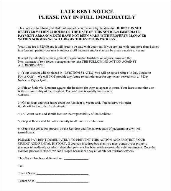 Pay or Quit Notice Sample Beautiful Va Pay Quit Notice form Template Image Result for