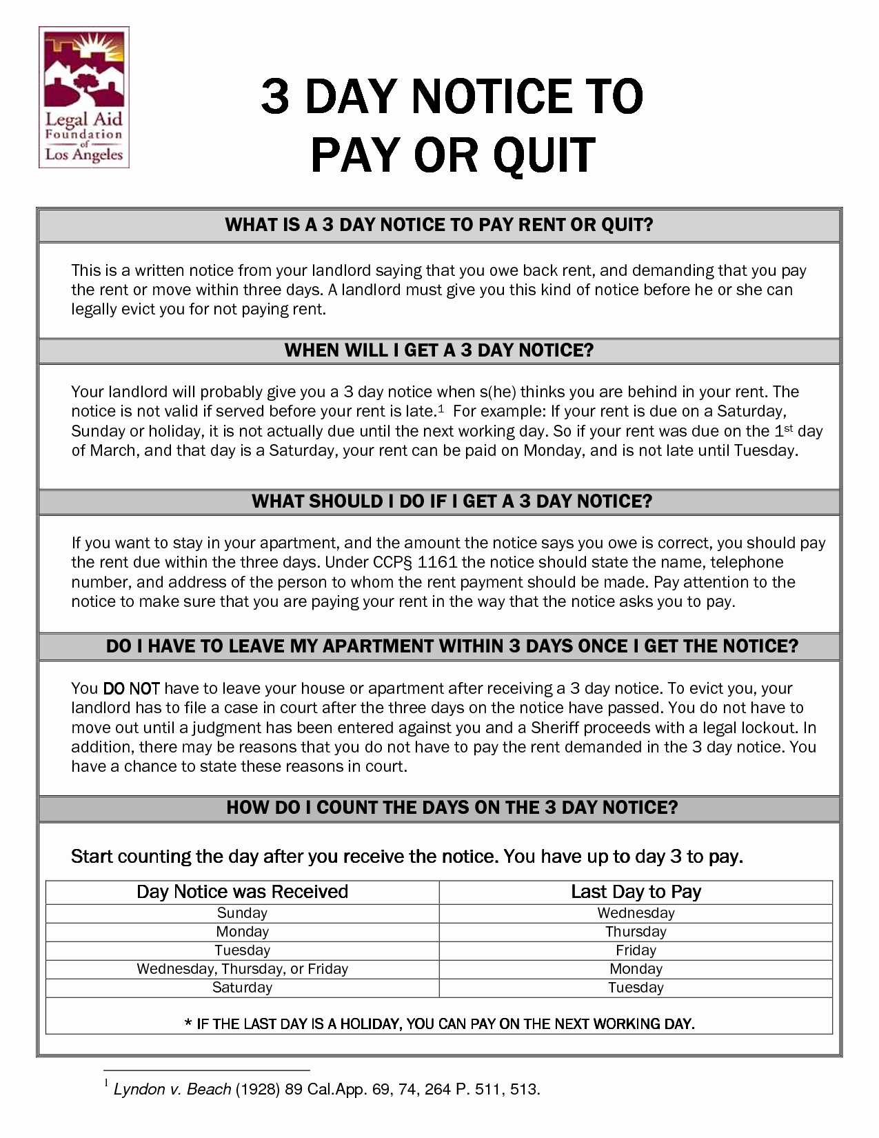 Pay or Quit Notice Sample Unique 10 Best Of 3 Day Notice format 3 Day Eviction