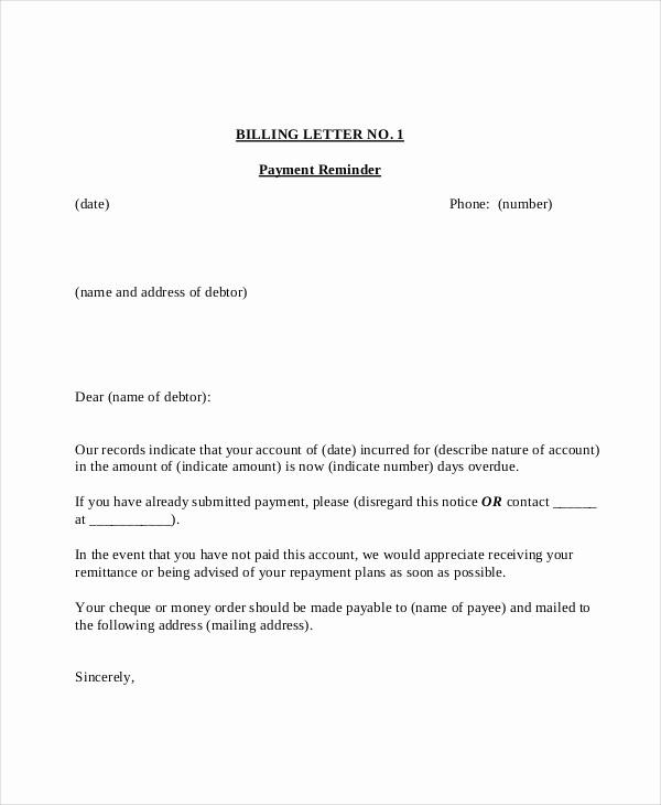 Payment Request Letter to Client Beautiful 15 Payment Reminder Letter Templates Pdf Google Docs