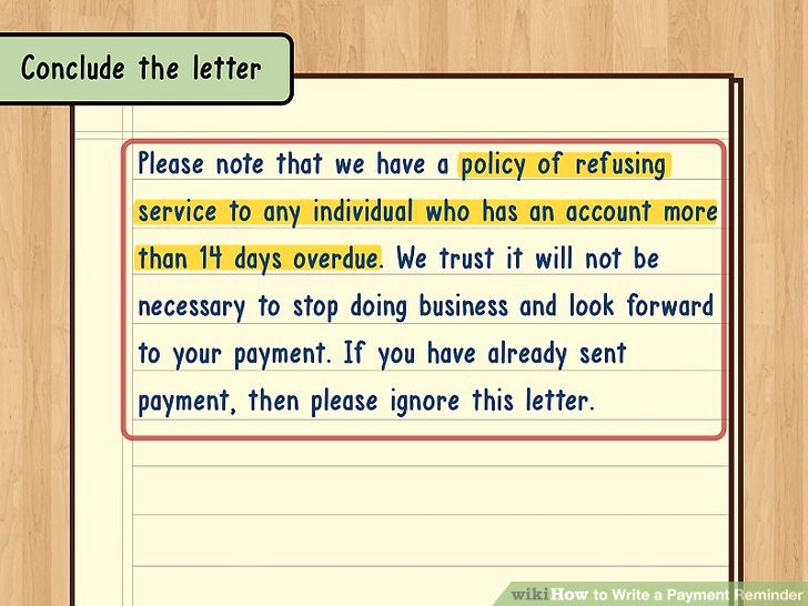 Payment Request Letter to Client Elegant How to Write A Payment Reminder 13 Steps with