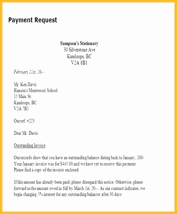 Payment Request Letter to Client Elegant Resume Responsibilities Letter format to Request for