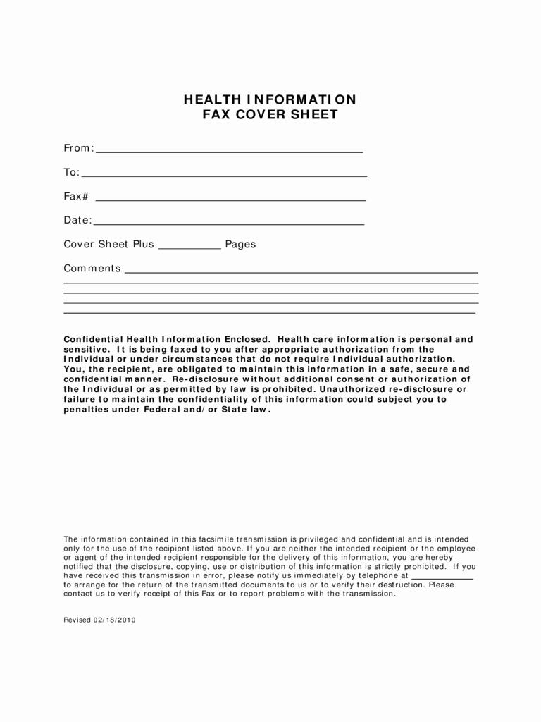 Pdf Fax Cover Sheet Fillable Beautiful 2019 Medical Fax Cover Sheet Fillable Printable Pdf