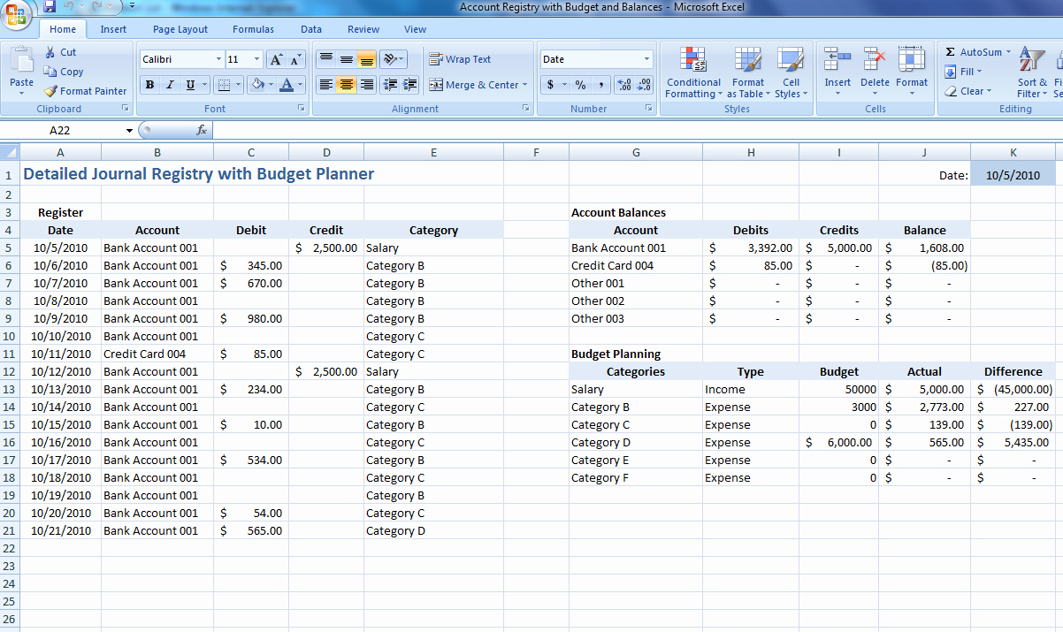 Personal Budget Exercise Ms Excel Fresh Excel Expense Tracker Tracking Spreadsheet Expense