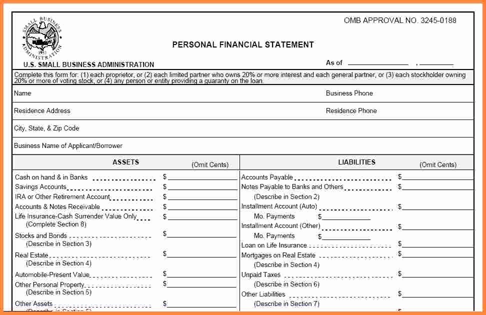 Personal Finance Balance Sheet Template Elegant Personal Financial Statement Spreadsheet