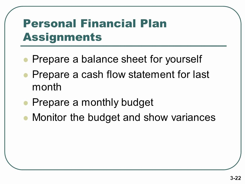 Personal Finance Cash Flow Statement New Money Management Skills Ppt Video Online