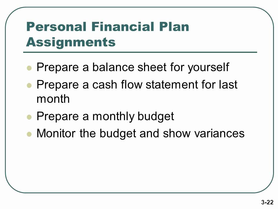 Personal Finance Cash Flow Statement New Money Management Skills Ppt Video Online
