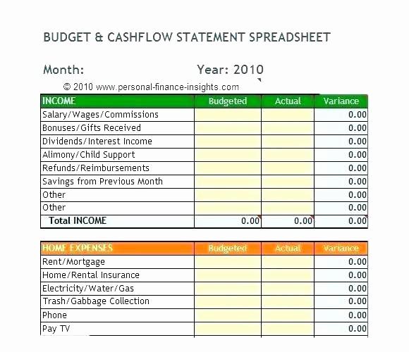 personal cash flow spreadsheet personal cash flow template page 6 personal finance software cash flow forecast