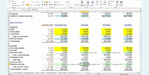 Personal Financial Plan Template Excel Elegant 5 Year Financial Plan Template Personal 1 Financial