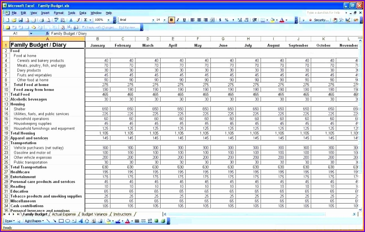 Personal Financial Plan Template Excel Elegant 8 Expenses Template Excel Exceltemplates Exceltemplates