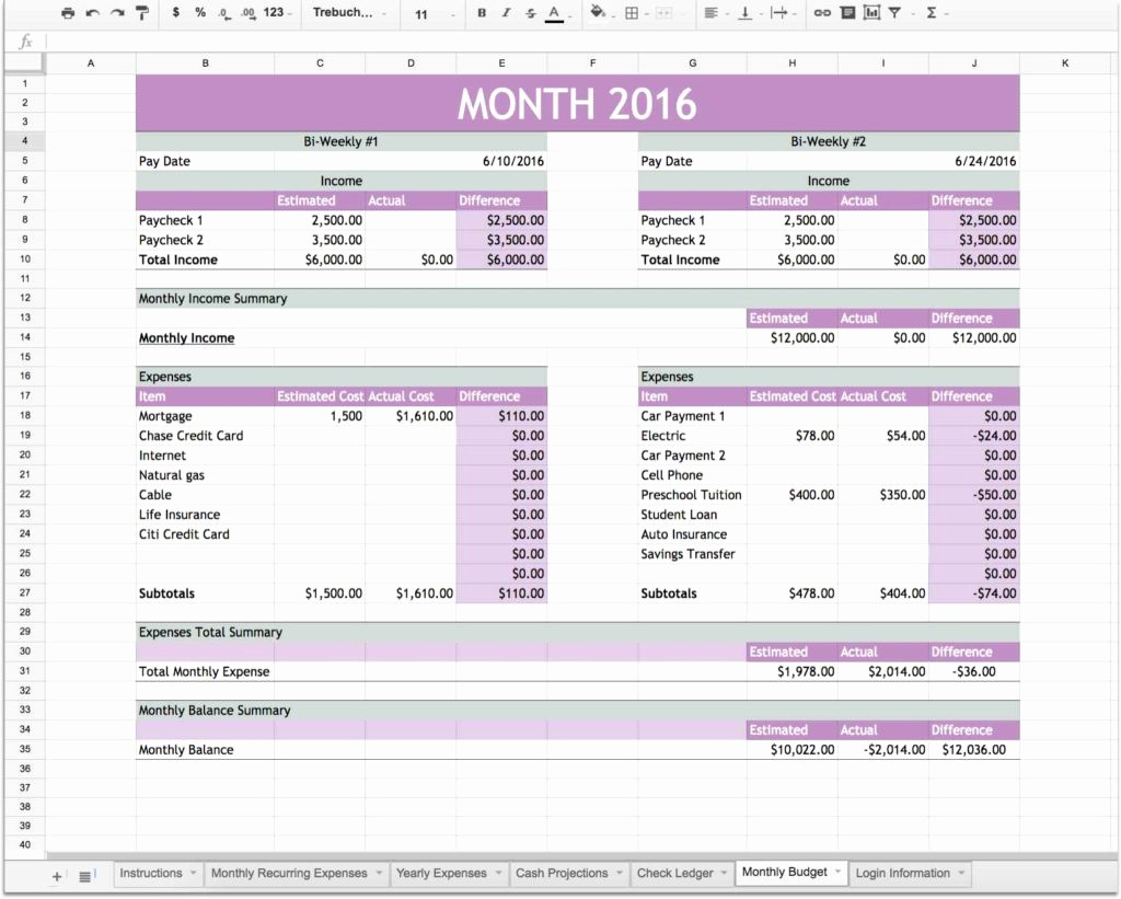 Personal Financial Plan Template Excel Fresh Financial Planning Spreadsheet Spreadsheet Templates for