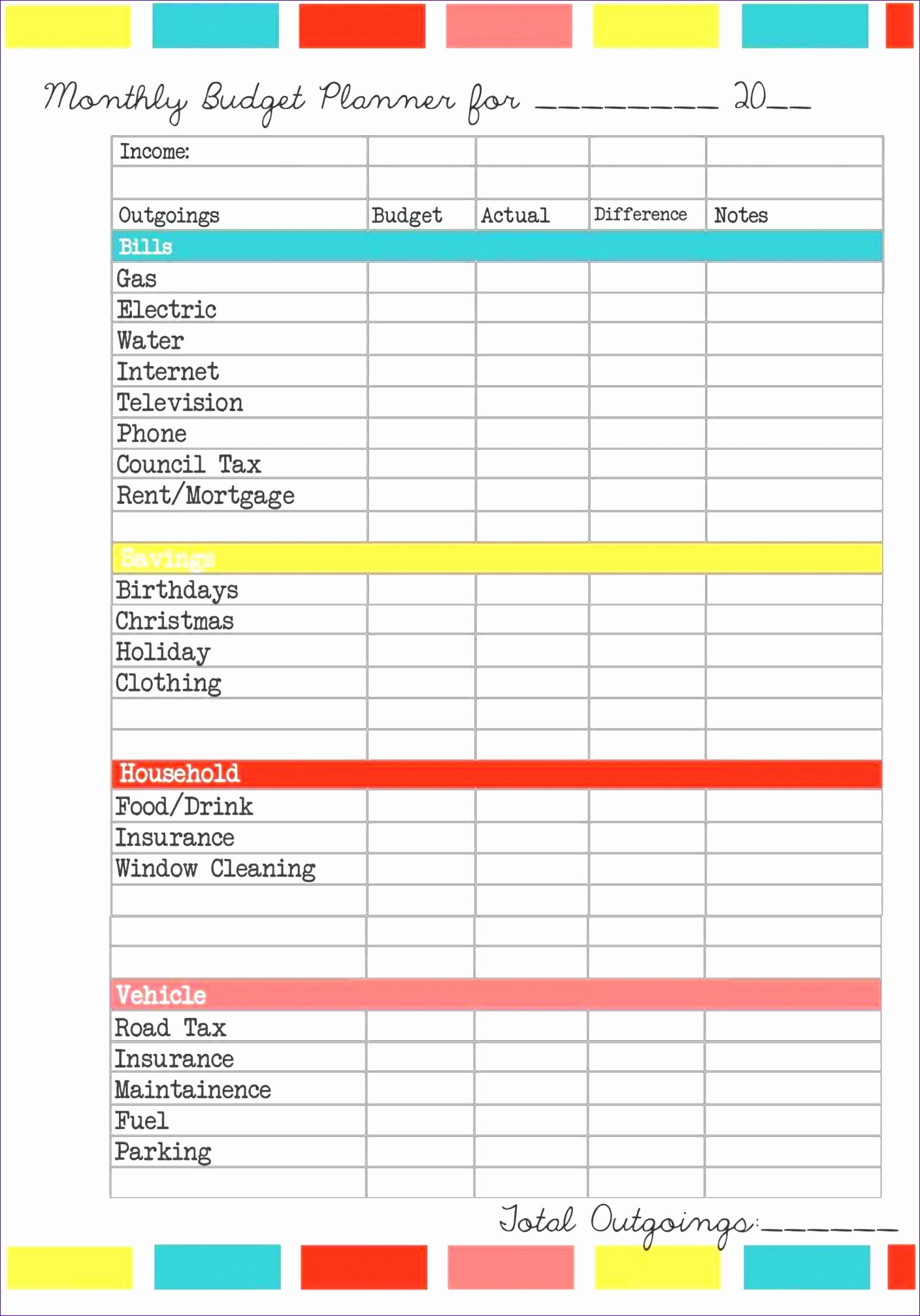 Personal Financial Plan Template Excel Lovely 10 Financial Plan Template Excel Exceltemplates