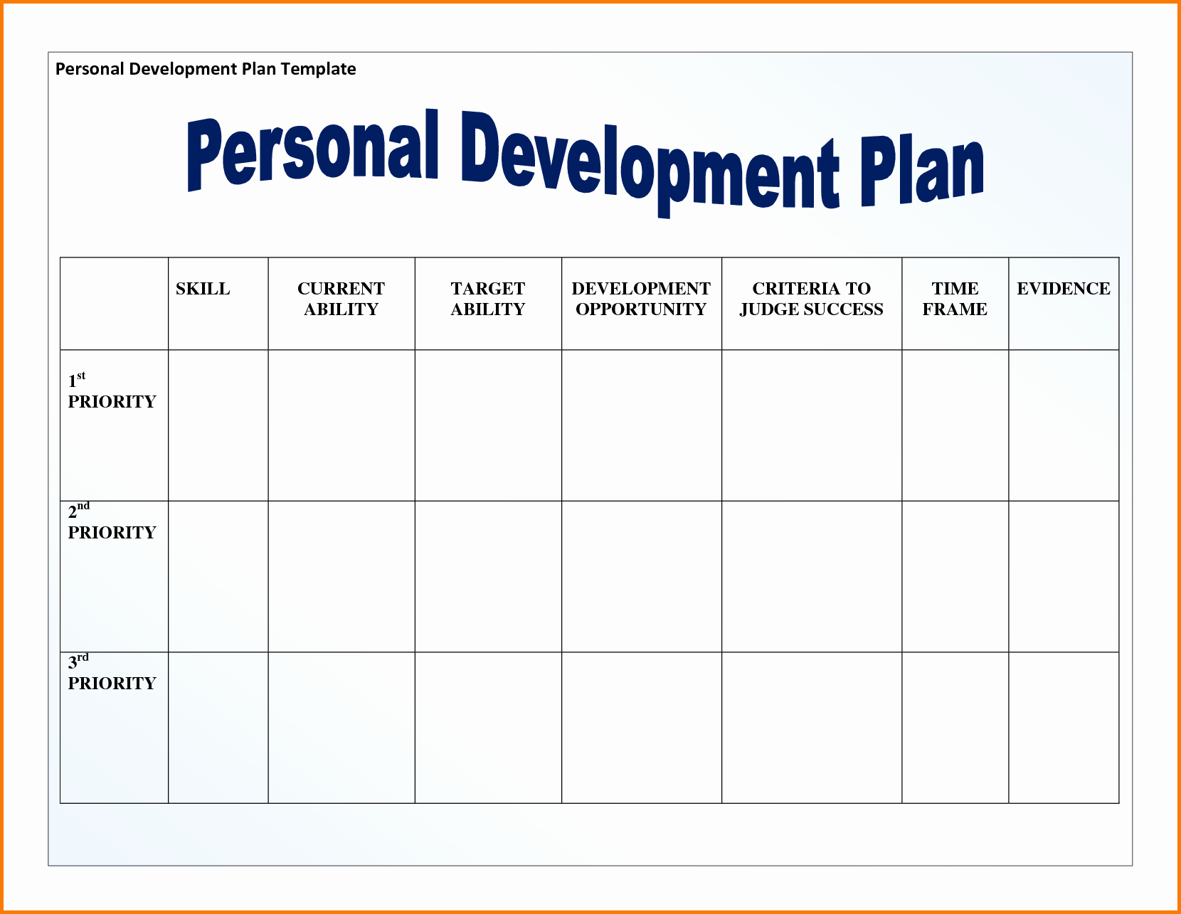 Personal Financial Plan Template Word Beautiful Fitness Plan Template