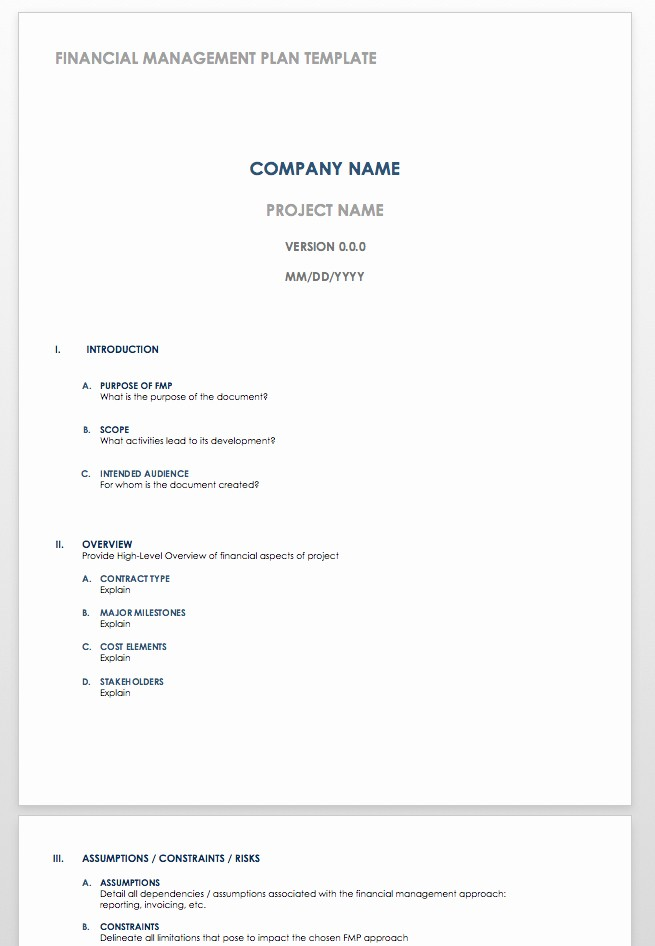 Personal Financial Plan Template Word Inspirational Appendix 16 Sample Business Plan