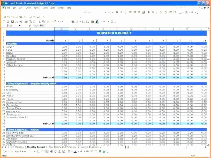 Personal Income and Expense Sheet Unique Expenditure Sheet Template Simple Spreadsheet for In E