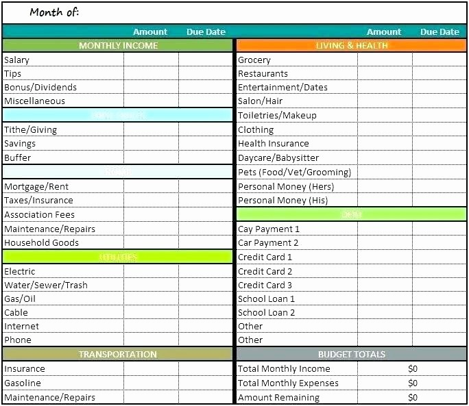 Personal Income and Expense Spreadsheet Best Of Family Expenses Spreadsheet Template Personal Monthly