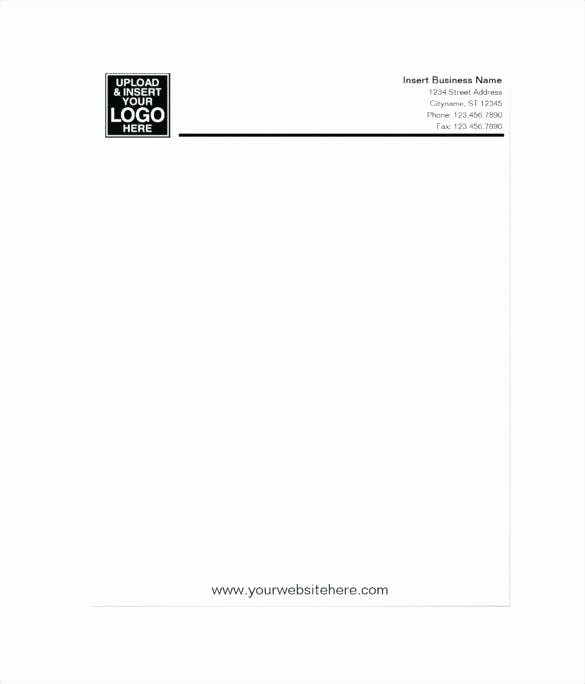 Personal Letterhead Templates Free Download Best Of Ficial Letter Template Yellow Simple Letterhead formal