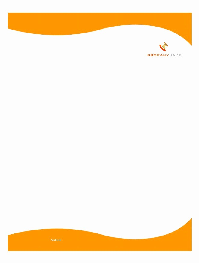 Personal Letterhead Templates Free Download Lovely 46 Free Letterhead Templates & Examples Free Template