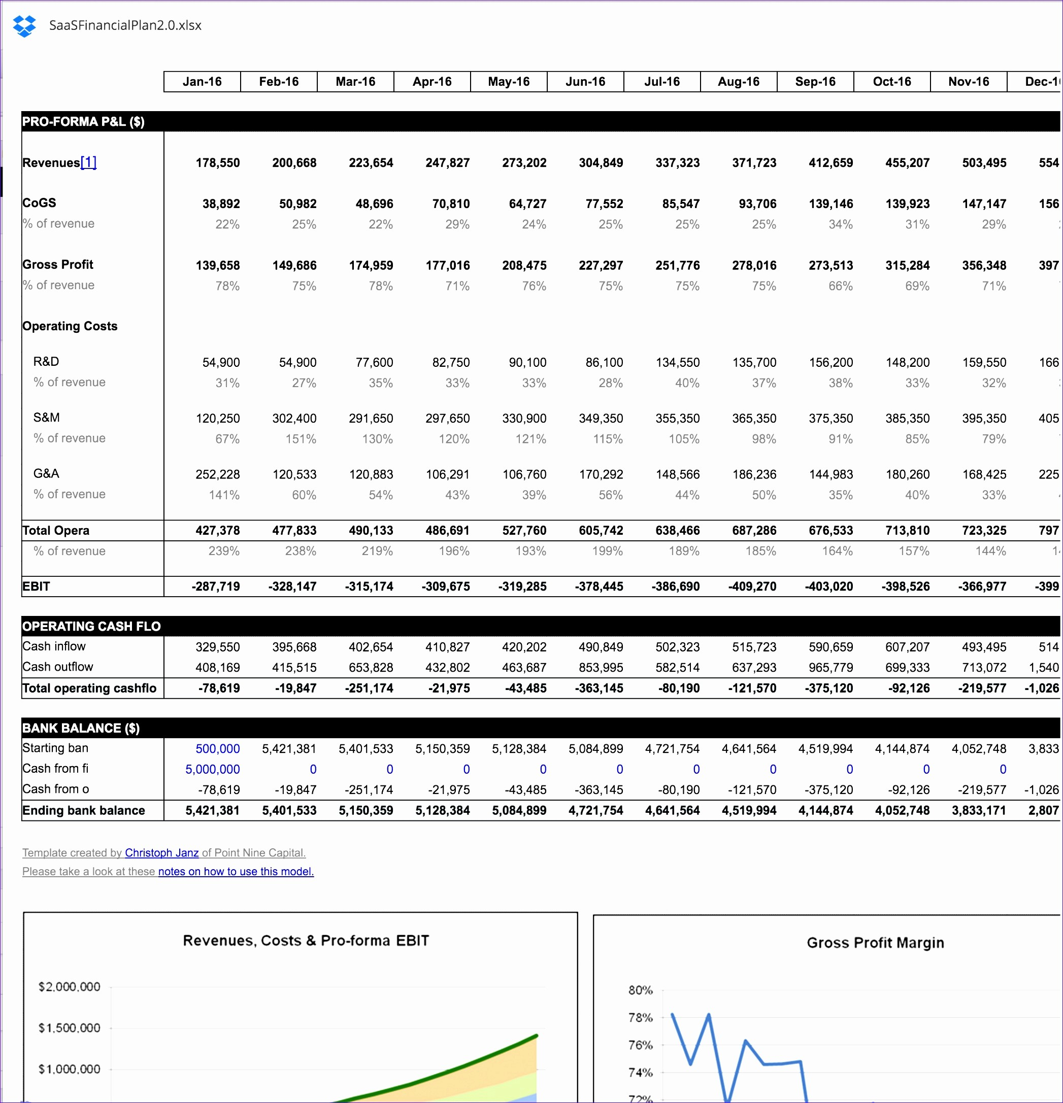 business financial statement template excel k8501