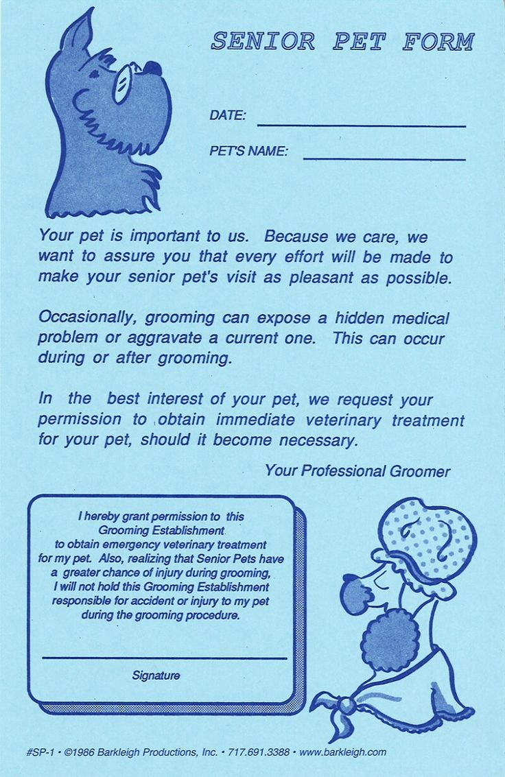 Pet Sitting Client Information form Awesome 25 Best Ideas About Mobile Pet Grooming On Pinterest