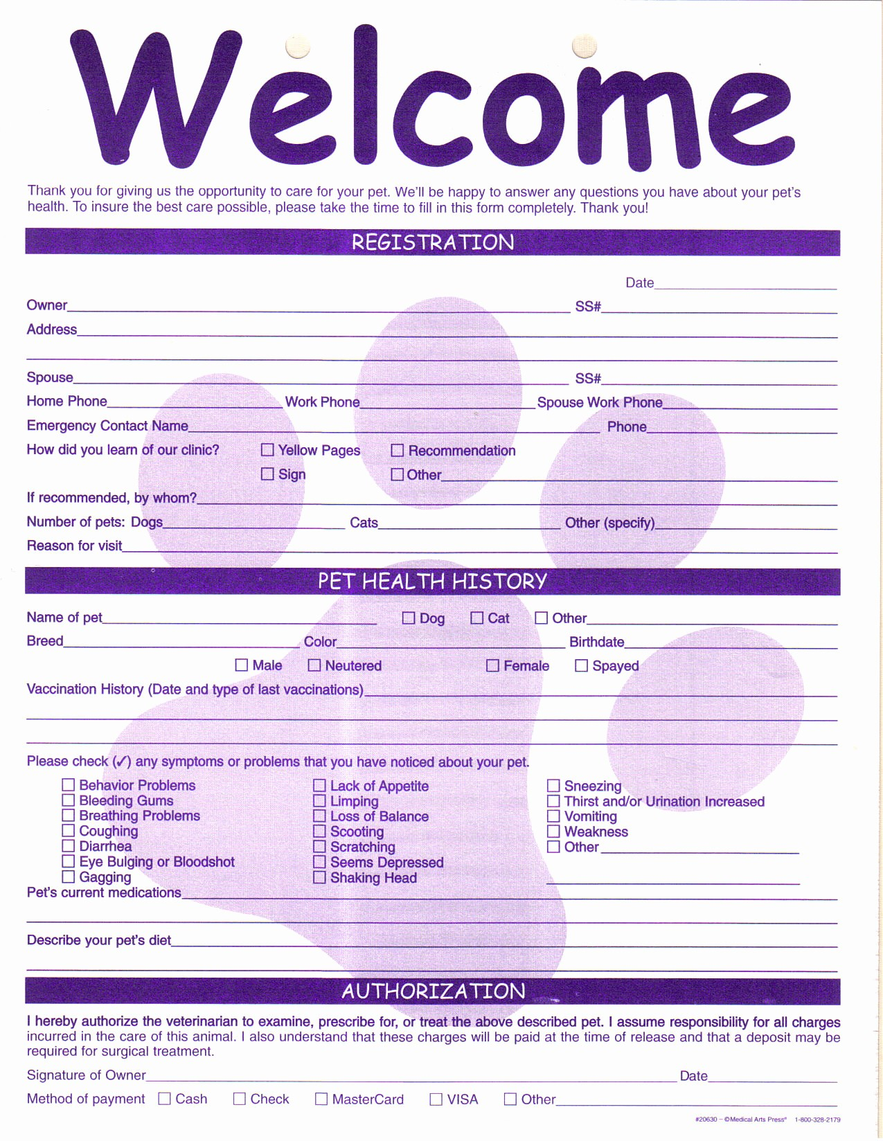 Pet Sitting Client Information form Lovely Index Of Cdn 14 1997 248