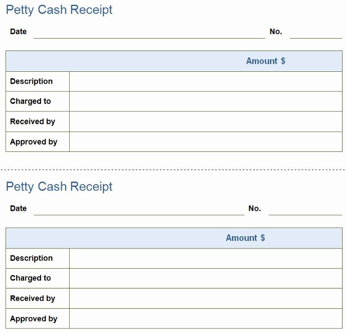 Petty Cash Receipt Template Free Lovely Petty Cash Receipt 2 Petty Cash Receipt Template