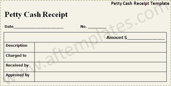 Petty Cash Receipt Template Free New Cash Receipt Template