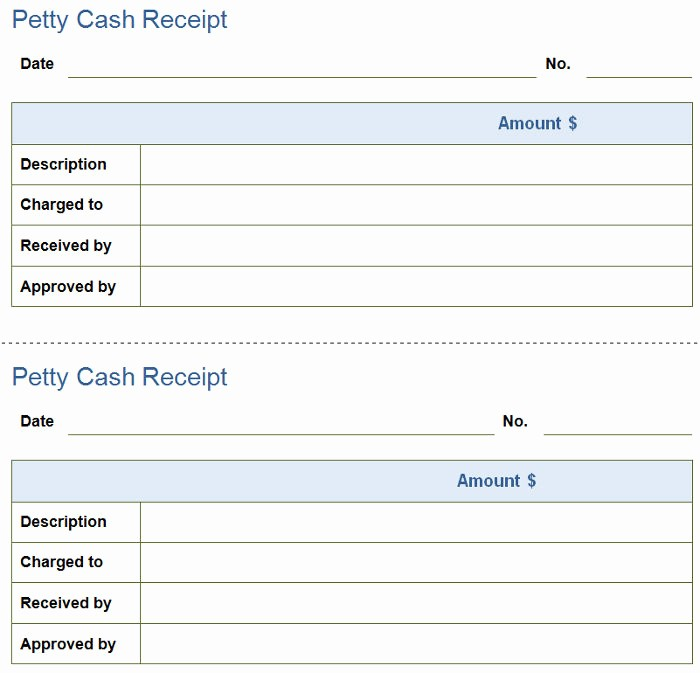 Petty Cash Receipt Template Free New Petty Cash Policy Template Gallery Free Templates Ideas