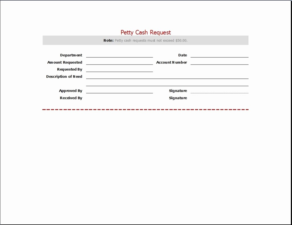 Petty Cash Request form Template Beautiful Requesting Letter Templates