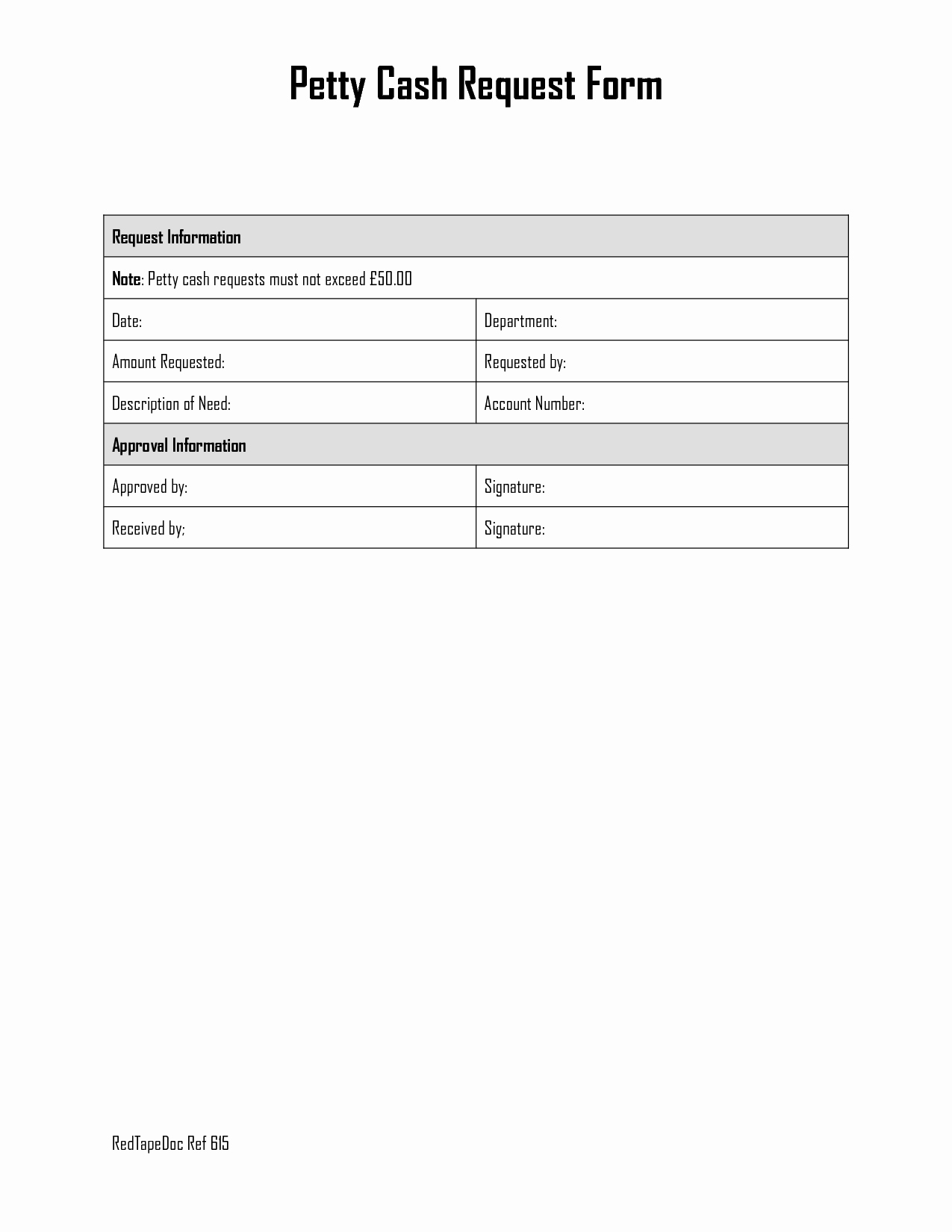 Petty Cash Request form Template Elegant Best S Of Petty Cash Replenishment form Template