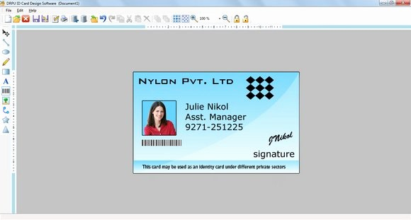 Photo Id Template Free Download Beautiful Free Download Shop Id Cards Templates