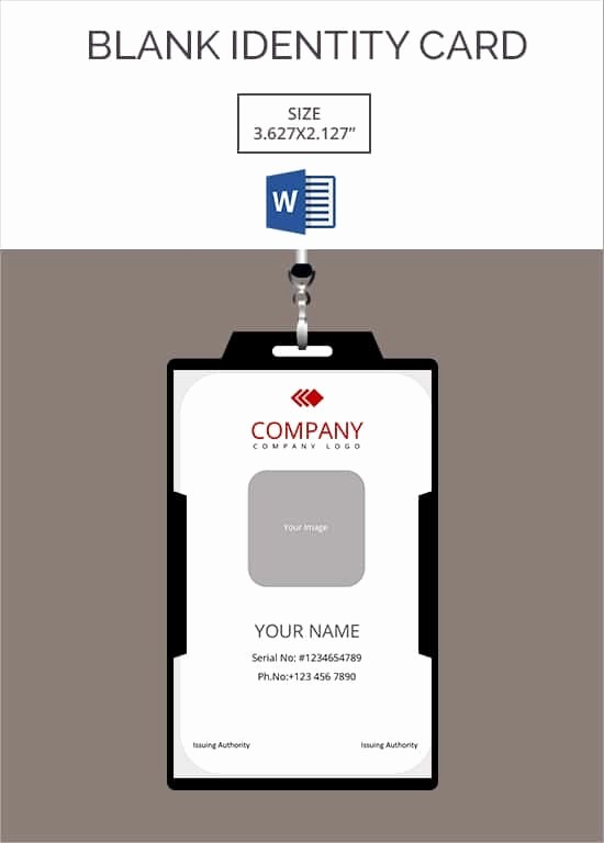 Photo Id Template Free Download Best Of Id Card Template
