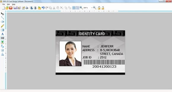 Photo Id Template Free Download Best Of Make Id Card with Excel File In Coreldraw Id Card