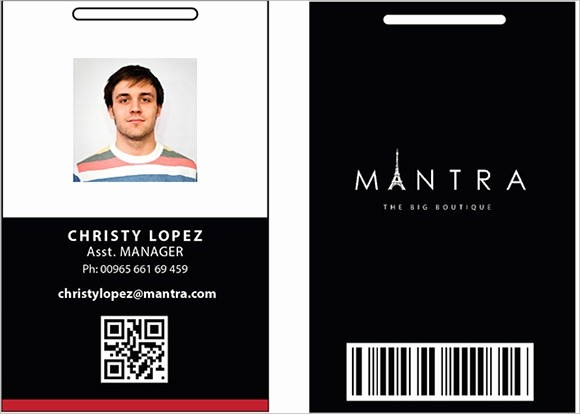 Photo Id Template Free Download Luxury 64 Amazing Id Card Templates to Download