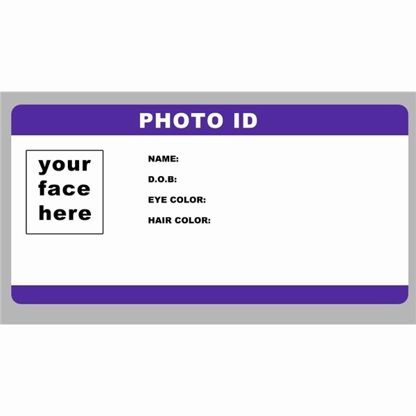 Photo Id Template Free Download Luxury Id Badge Template Free Blank Id Card Template Id