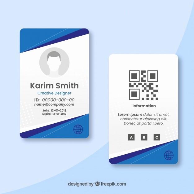 Photo Id Template Free Download Luxury Karty Identyfikacyjnej Wektory Zdjęcia I Pliki Psd
