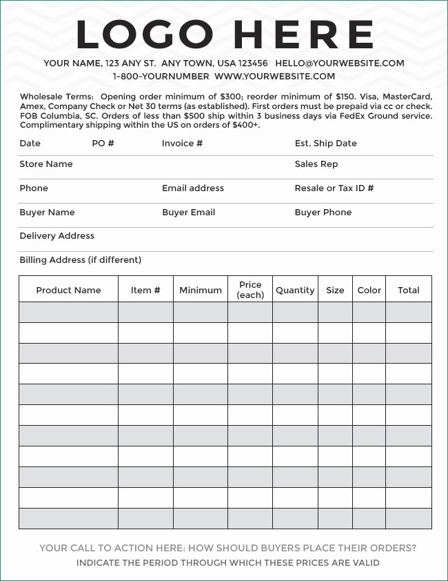Photography order form Template Excel Beautiful Payment Sports Graphy order form Template Free